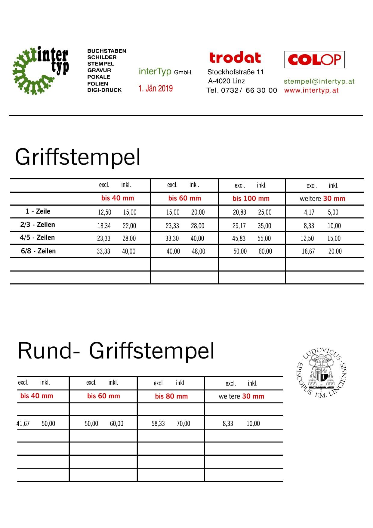 griffstempel 2019